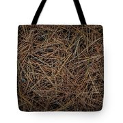 Pine Needles On Forest Floor Tote Bag