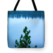 Pine On The River Tote Bag