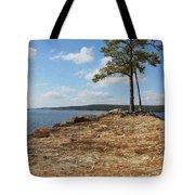 Pine Perch Tote Bag