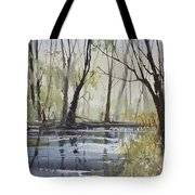 Pine River Reflections Tote Bag