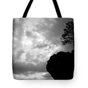 Pine Silhouette Tote Bag