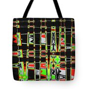 Pine Tree Abstract #3 Tote Bag
