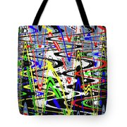 Pine Tree Abstract ,3448wt Tote Bag