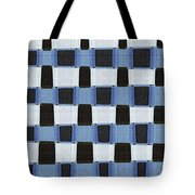 Pine Tree Abstract #7213w Tote Bag