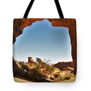 Pine Tree Arch 1 Tote Bag