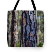 Pine Tree Bark Tote Bag