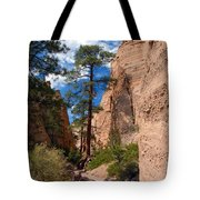 Pine Tree Canyon Tote Bag