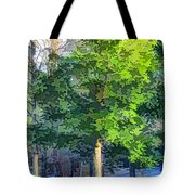 Pine Tree Forest Tote Bag