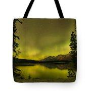 Pine Tree Silhouettes Tote Bag