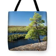 Pine Tree With A View Tote Bag