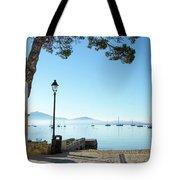 Pine Walk Morning, Puerto Pollensa Tote Bag