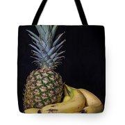 Pineapple And Bananas Tote Bag