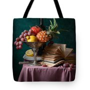 Pineapple And Other Fruits Tote Bag
