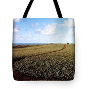 Pineapple Fields Tote Bag