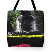 Pineapple Fountain Charleston Sc Tote Bag