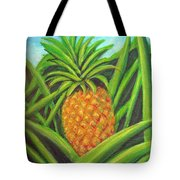 Pineapple Painting #332 Tote Bag