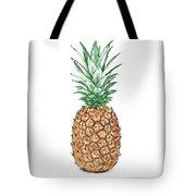 Pineapple Pencil Tote Bag