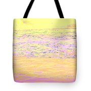 Pineapple Sunset Tote Bag