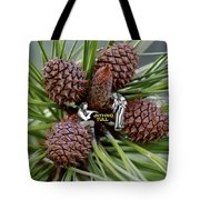 Pinecone Rock 1 Tote Bag