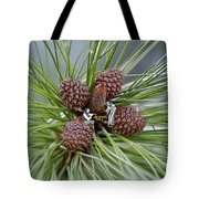 Pinecone Tull Tote Bag