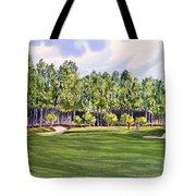 Pinehurst Golf Course 17th Hole Tote Bag