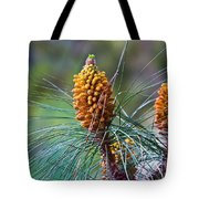 Pines In Bloom Tote Bag