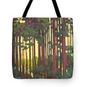 Pines Of Nisqually Tote Bag