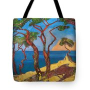 Pines Of The Silver Beach Tote Bag