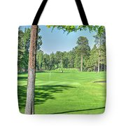 Pinetop Country Club - Hole #18 - Photos Tote Bag