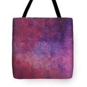 Pink Abstract Tote Bag
