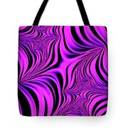 Pink Abyss Tote Bag