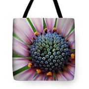 Pink African Daisy Detail Tote Bag