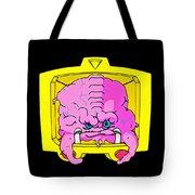 Pink Alien Tote Bag