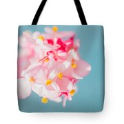 Pink And Baby Blue Tote Bag