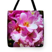 Pink And Beauty Tote Bag