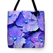 Pink And Blue Hydrangea 4 Tote Bag