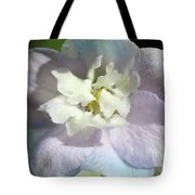 Pink And Blue Pastel Flower Tote Bag