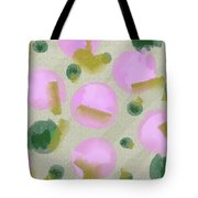 Pink And Green Inspiration Tote Bag