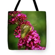 Pink And Green Tote Bag
