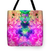 Pink And Lilac Tote Bag