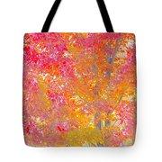 Pink And Orange Autumn Tote Bag