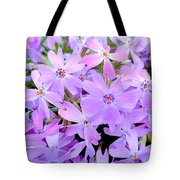 Pink And Purple Spring Tote Bag