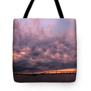 Pink And Purple Sunset Tote Bag