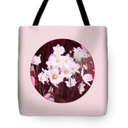 Pink And White Anemones Tote Bag