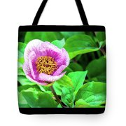 Pink And Yellow Flower Tote Bag
