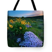 Pink And Yellow Sunset Tote Bag