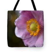 Pink Anemone Tote Bag