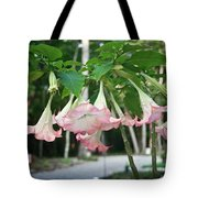 Pink Angels Tote Bag