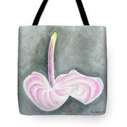 Pink Anthurium Tote Bag