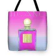 Pink Art Deco Perfume Tote Bag